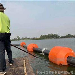 FT700*800拦截船只警示管道抬浮塑料浮筒抽沙疏浚管