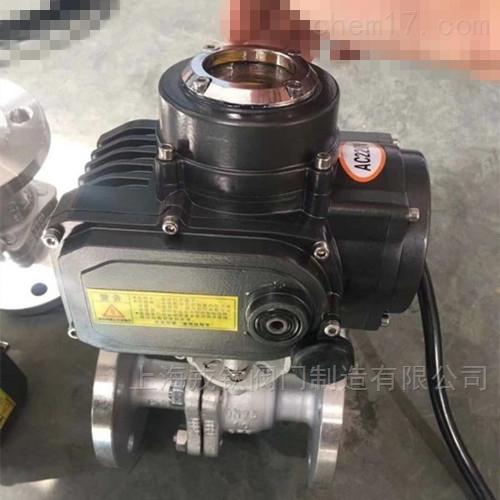 潜水型电动球阀IP68防水