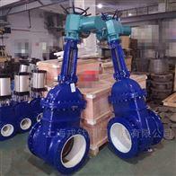 PZ941TC电动耐磨陶瓷排渣闸阀
