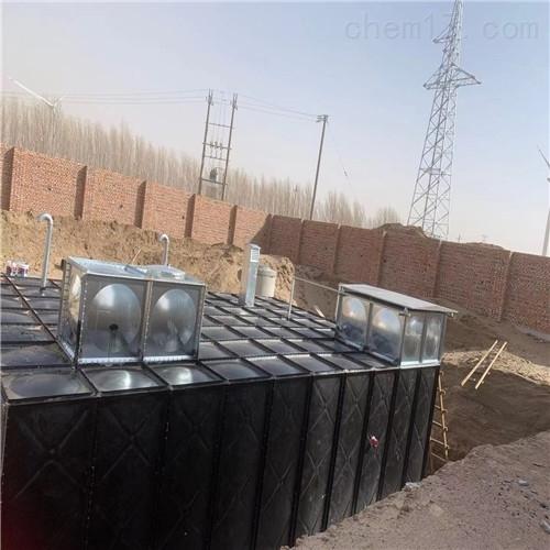抗浮式地埋一体化消防泵站设备常识