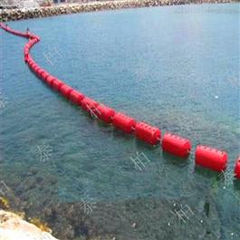 FT600*1000水上管道漂排塑料浮筒拦污警示聚乙烯浮体