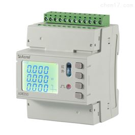 ADW220-D10/4S安科瑞全电参量导轨式多回路复费率电能表