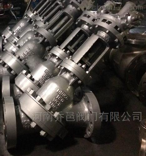 SJS545Y氧化铝料浆阀