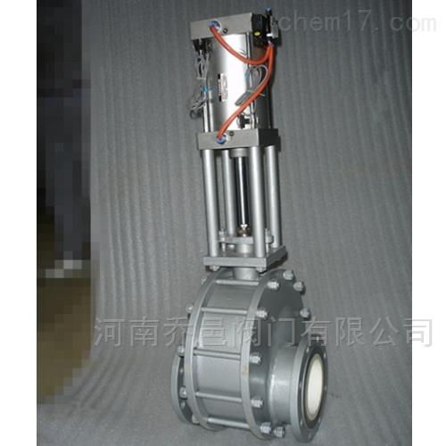 GDZ644TC气动除灰耐磨双闸板阀