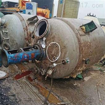 梁山常年二手不锈钢反应釜回收价格