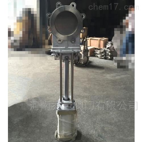 2520高温1000度气动锅炉排渣阀刀闸阀