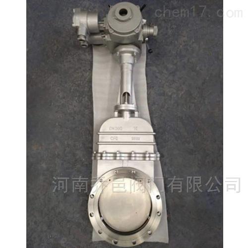 DMZ973W电动暗杆刀型闸阀