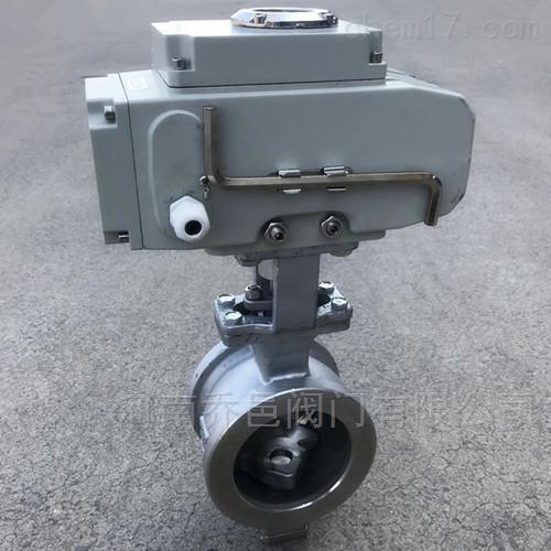 QV977F电动V型调节球阀