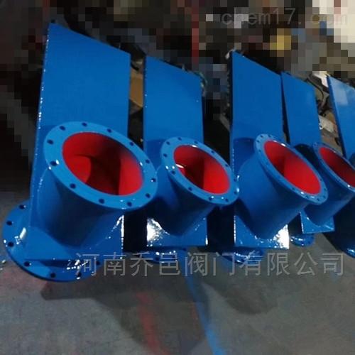 手动斜式物料插板阀RM309