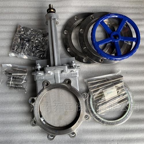 310S高温插板阀2520耐1000度高温排渣阀