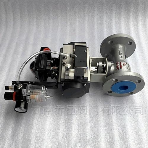 气动带手动高温球阀 气动铸钢高温球阀