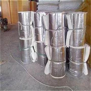 白色纤维硅酸铝针刺毯厂家发货直供现场