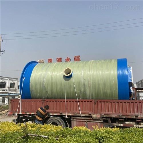 玻璃钢污水提升泵站适用于各类地点情况