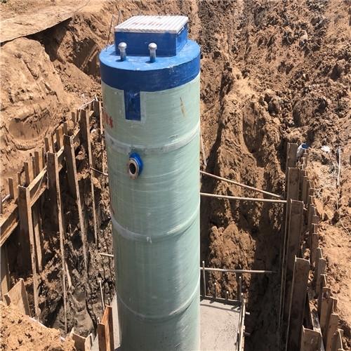 一体化预制泵站厂家安装说明