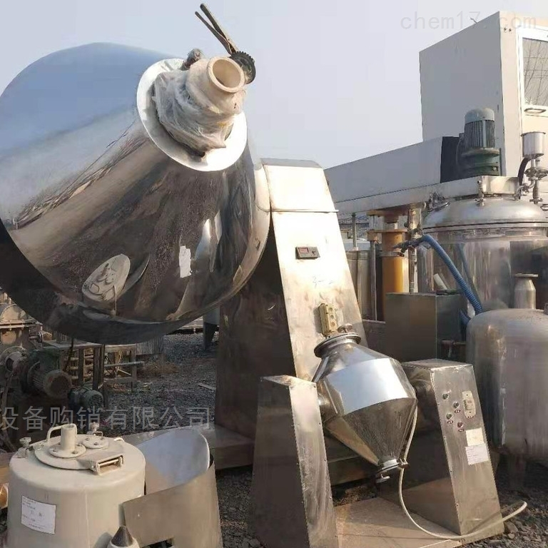高价回收二手8000L犁刀混合机