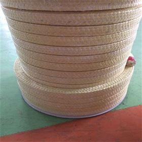 盘根芳纶白色耐酸碱耐高温多规格可定制