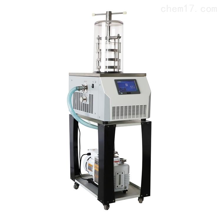 小型电除霜压盖冷冻干燥机LGJ-10B