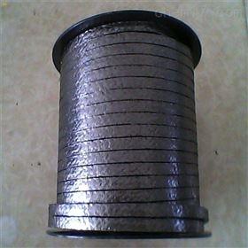 盘根 镍丝壳石墨盘根 石墨加金属丝盘根