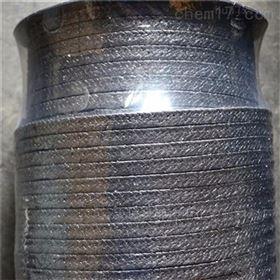 供应密封成型石墨盘根加金属丝石墨填料盘根