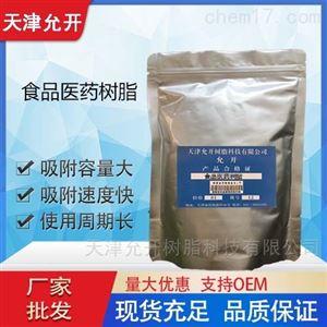 纯化鸡骨草总皂苷吸附树脂