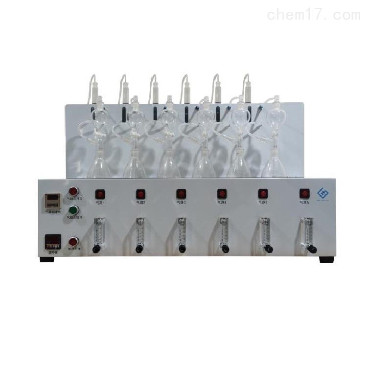 水质硫化物酸化吹气仪 库号:M342384
