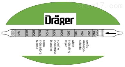 德尔格硫化氢检测管CH2910数值1