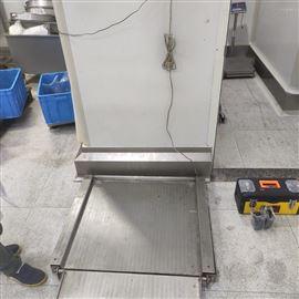 不锈钢防爆地磅 可选配RS232 RS485通讯