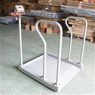 DCS-HT-L300公斤血透室轮椅称 广西带扶手电子轮椅秤