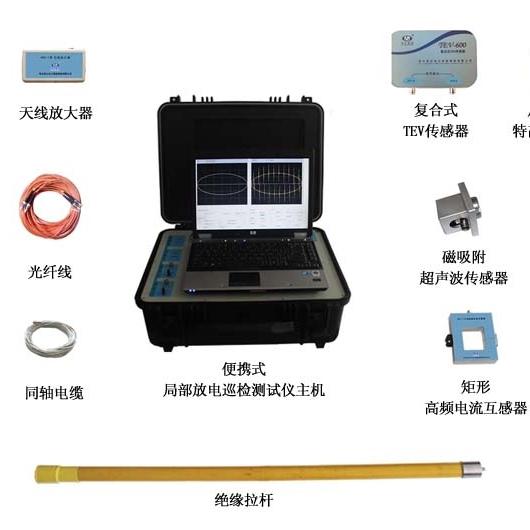 局放测试仪产品(两通道,便携式)