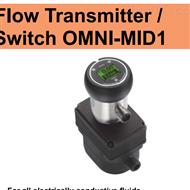 OMNI-MID1-008AP001E豪斯派克Honsberg流量计电磁流量开关