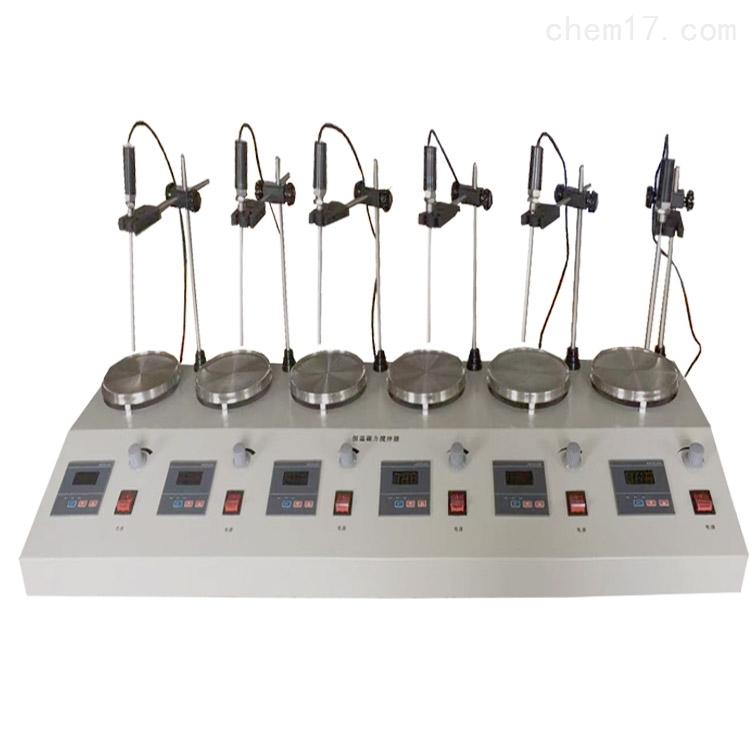 HJ-6六联磁力加热搅拌器