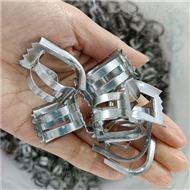 萃取塔金属304矩鞍环填料带齿鞍形环填充料