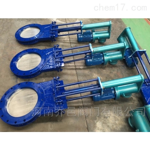 电液动闸板阀 电液动刀型闸板阀