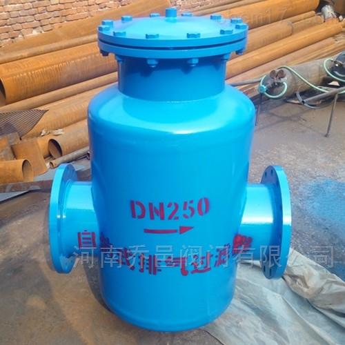 GCQ<strong>自洁式排气过滤器</strong> 自洁式排气水过滤器