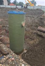 一体化预制泵站安装2