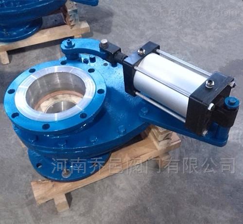 气动陶瓷旋转阀 气动陶瓷旋转摆动阀 气动陶瓷旋转出料阀