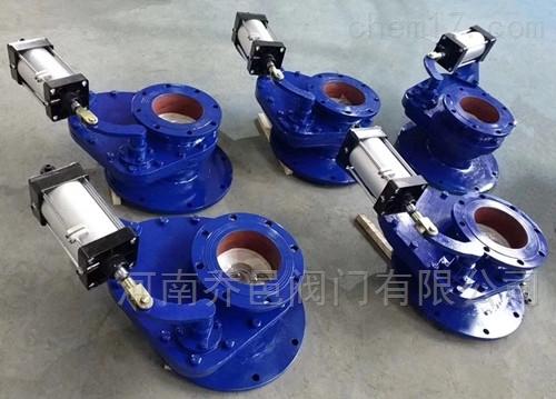 气动摆动式陶瓷进料阀 气动耐磨旋转阀 气动陶瓷耐磨摆动阀 仓泵进料阀