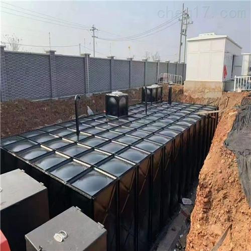 预埋抗浮式地埋一体化消防泵站施工步骤