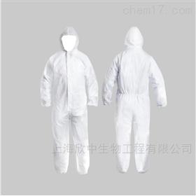防尘连帽连体式隔离防护服(耗材)