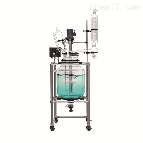 玻璃双层反应釜 精馏釜