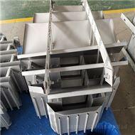 DN600液体收集再分布器遮板式收集器结构