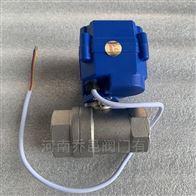 微型电动球阀CWX-15Q