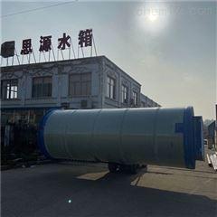 叙述一体化污水提升泵站的安装全过程