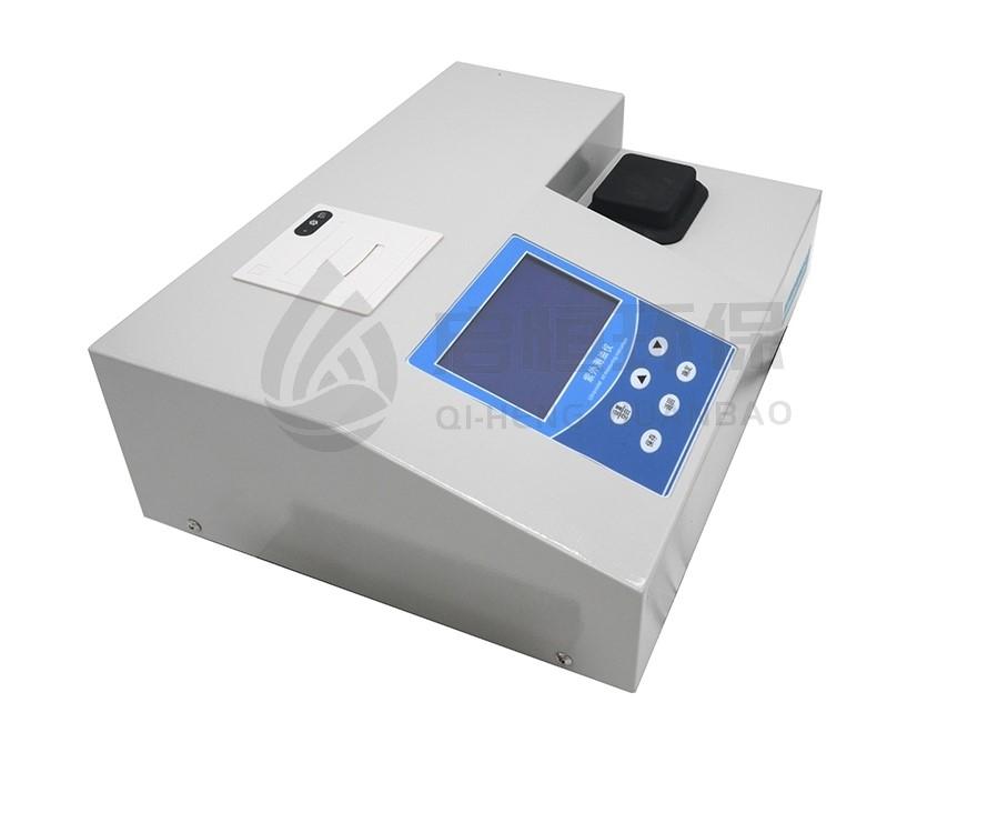 紫外法測油的脫水和吸附