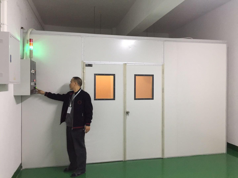 珠海中慧微电子订购25M³高温老化房