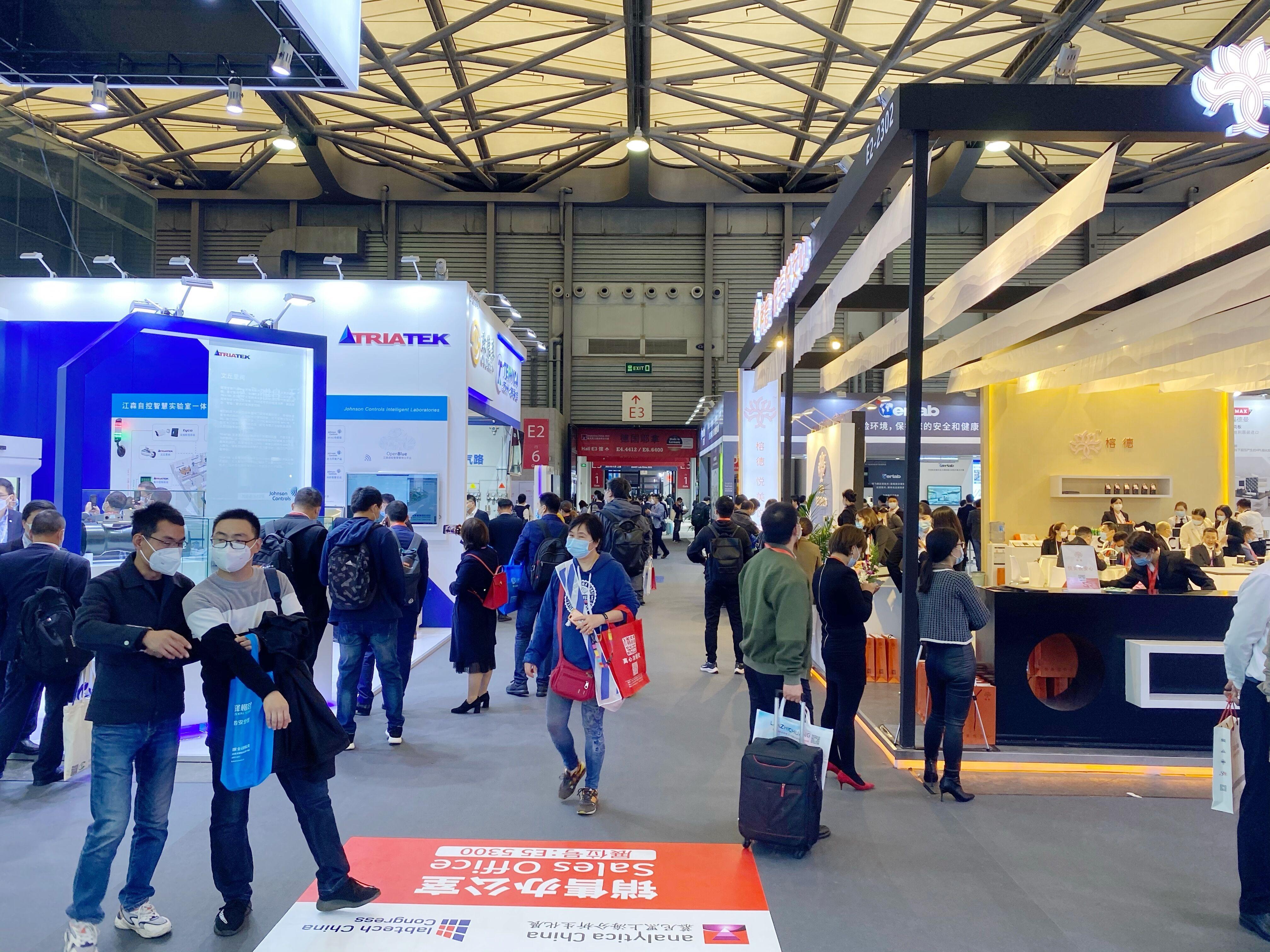 2020慕尼黑上海分析生化展开幕 润扬仪器偕全体员工观展交流
