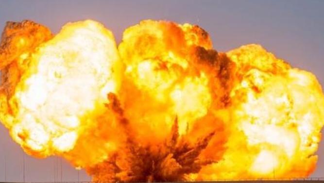 压缩气体爆炸