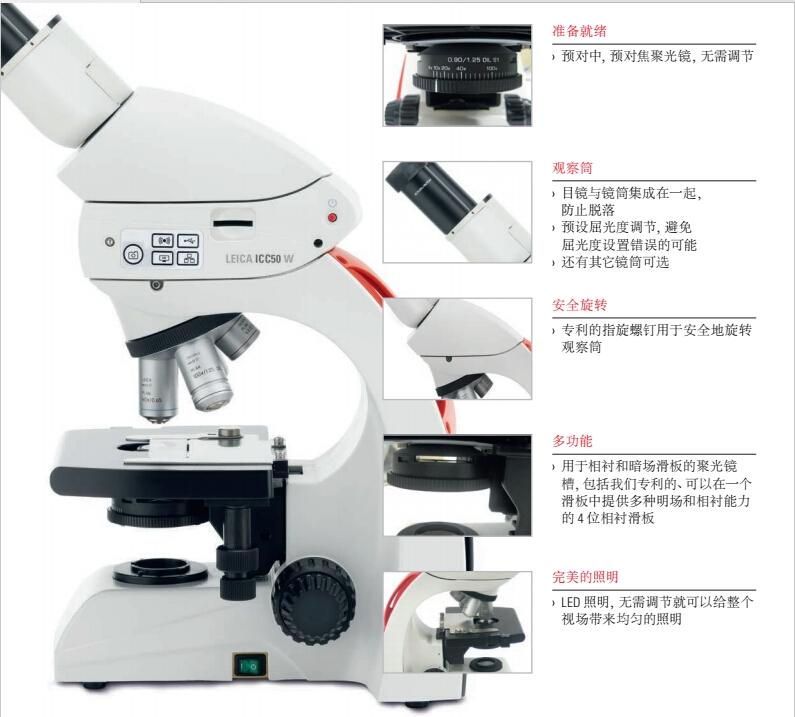 显微镜Leica