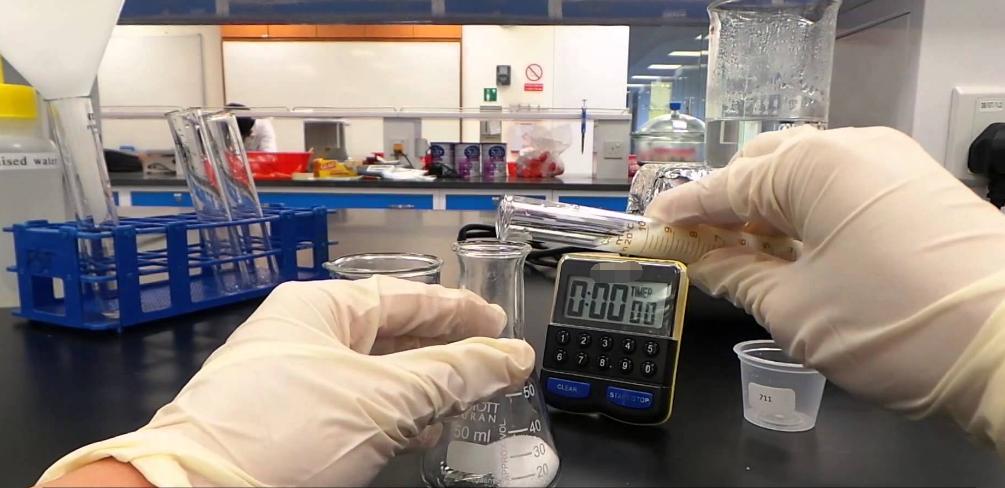 检测水中硫酸盐