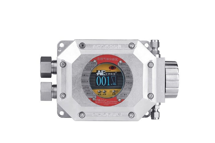 管道氧浓度分析仪表